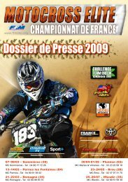 Dossier de Presse 2009 - Mototribu