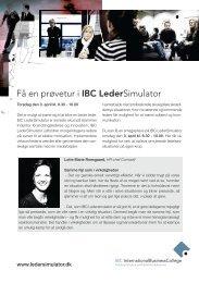 Få en prøvetur i IBC LederSimulator - IT Forum Syddanmark