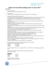 Referat af Generalforsamlingen den 14. marts 2013 - Tølløse.dk
