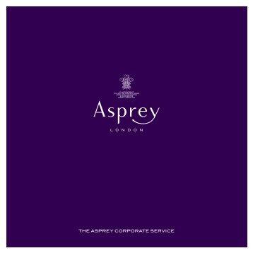 THE ASPREY CORPORATE SERVICE