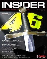The official Yamaha racing magazine - Mototribu