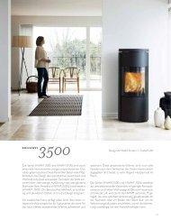 27 Design: Architekt Anders C. Fasterholdt Die Serien HWAM 3500 ...