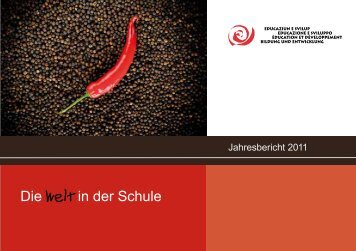 Jahresbericht 2011 (PDF, 1.3MB) - Stiftung Bildung und Entwicklung
