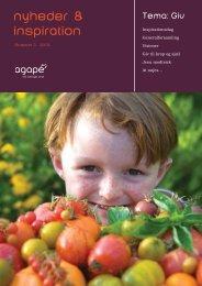 Nyheder & Inspiration 2010, nr. 3 - Agape