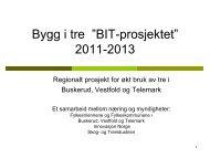 Øko-Bygg Telemark - Innovasjon Norge