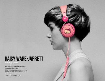 Photographer - Daisy Ware-Jarrett