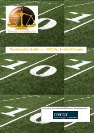 The Complete Guide to the 2010 Pro Football Season