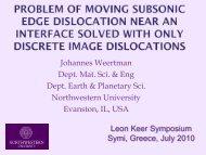Image Dislocations - MAE