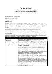 Referat fra repræsentantskabsmødet 20-09-2010 - Boligselskabet ...