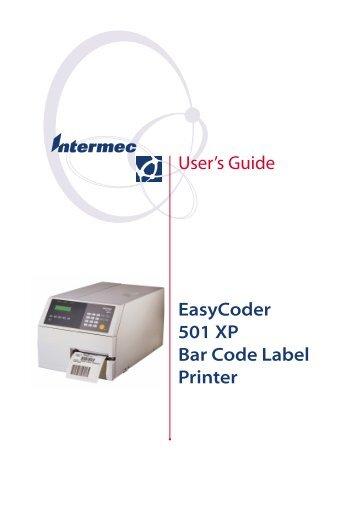 Intermec EasyCoder F2 Fingerprint Update