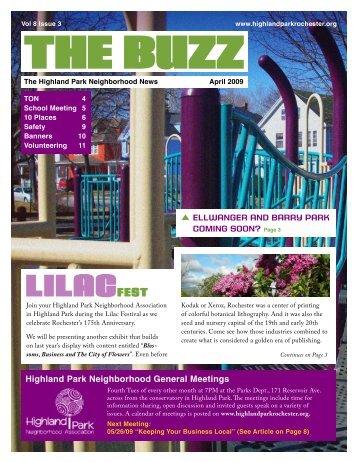 LILACFEST - Highland Park Neighborhood Association