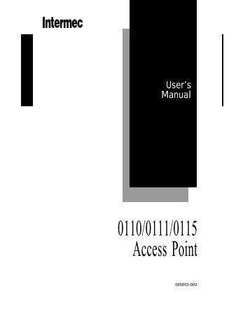 Intermac MobileLAN access 2100 Drivers (2019)