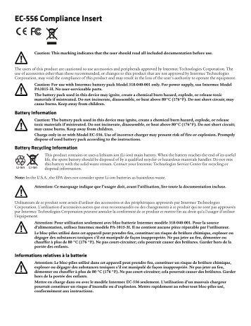 Intermec PC43t manual