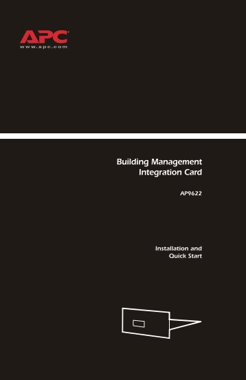 Building Management Integration Card - ExcessUPS