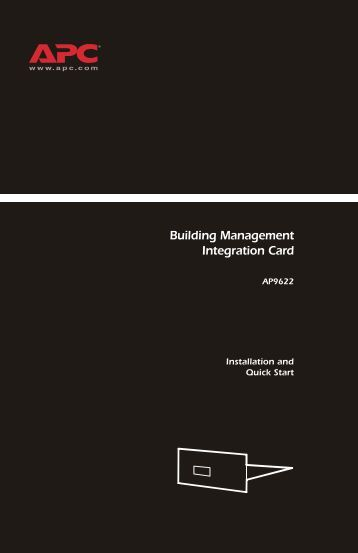 Building Management Integration Card - ExcessUPS