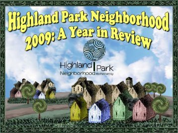 NESUG 2008 Simple Power Point Template - Highland Park ...
