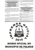 SUMÁRIO ATOS DO PODER EXECUTIVO - Diário Oficial de Palmas - Page 6