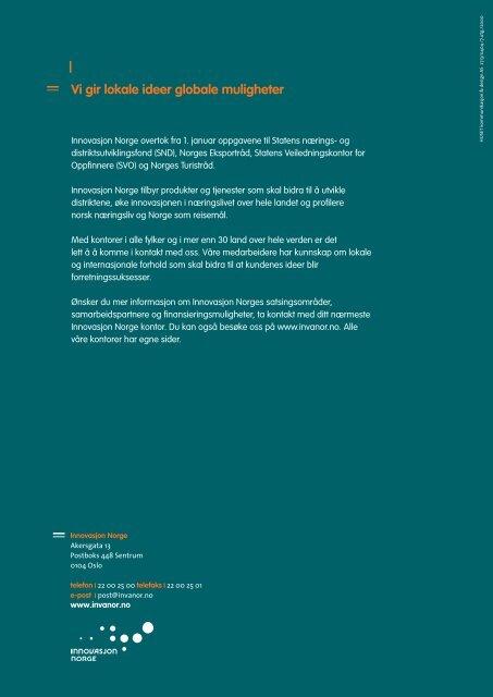 PLP Prosjektlederprosessen : Fra idé til resultat - Innovasjon Norge