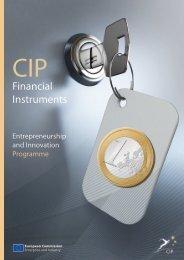 CIP Financial Instruments - European Commission - Europa
