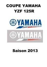 COUPE YZF 125 R 2013 - Mototribu