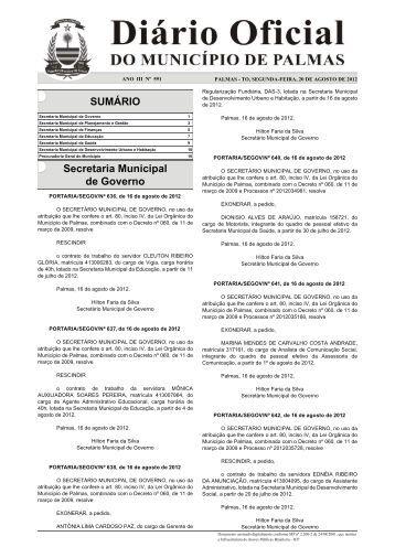 Diario_Municipio_N_591_20_08 -.indd - Diário Oficial de Palmas