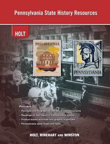 Pennsylvania State History Resources - Lincoln Interactive