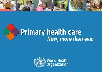 Primary health care - What is GIS
