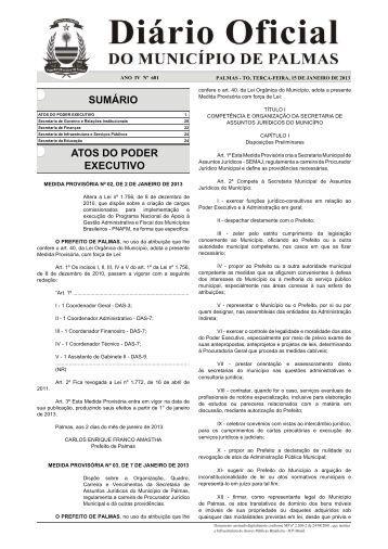 íntegra da medida provisória nº 03, de 7 de janeiro de 2013 que ...