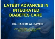 latest advances in integrated diabetes care dr. hashim ... - What is GIS