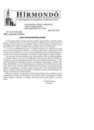XV. évf. 9-10. szám 2006. szeptember-október - Mindenkilapja