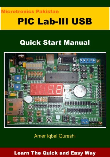 Quick Start Manual - Microtronics Pakistan