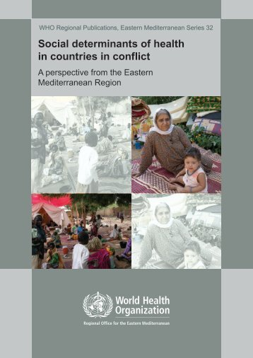 Social determinants of health in countries in conflict - What is GIS ...