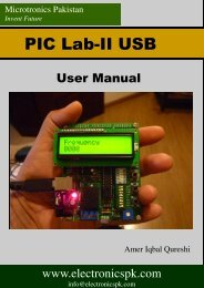User Manual and Schematic - Microtronics Pakistan