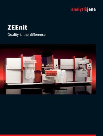 Zeenit - Analytik Jena AG