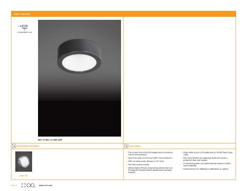 Ceiling Ocl Architectural Lighting