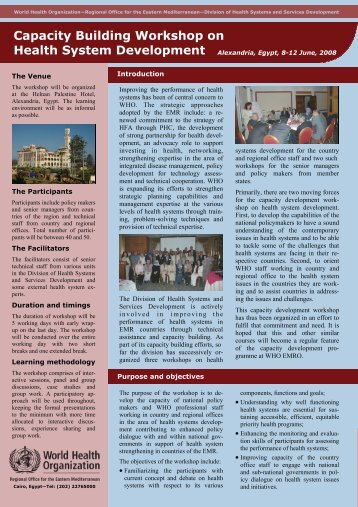 Brochure - What is GIS - World Health Organization