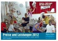 Preise und Leistungen 2012