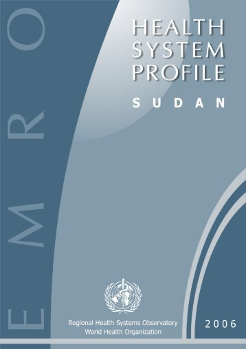 Sudan : Complete Profile - What is GIS - World Health Organization