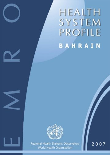 Bahrain : Complete Profile - What is GIS - World Health Organization