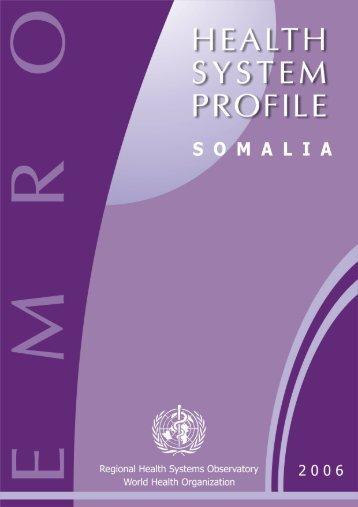 Somalia - What is GIS - World Health Organization