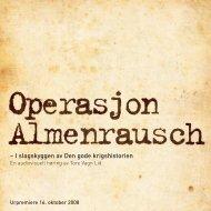 Operasjon Almenrausch - Den kulturelle skolesekken Hordaland