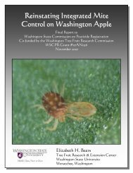 Reinstating Integrated Mite Control on Washington Apple