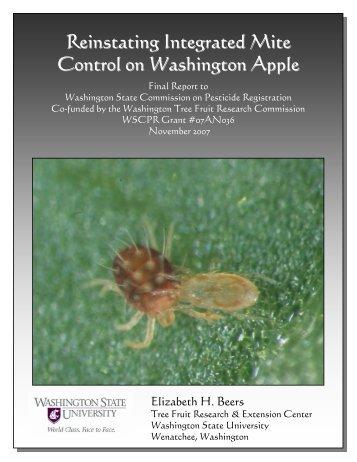 Reinstating Integrated Mite Control on Washington Apple