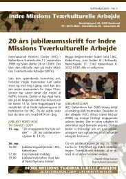 Nyhedsbrevnr 3 september - Indre Missions Tværkulturelle Arbejde