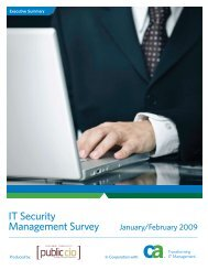 IT Security Management Survey