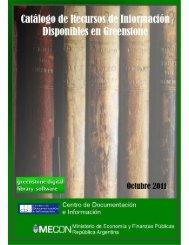 Descargar Catálogo en PDF - del Centro de Documentación e ...