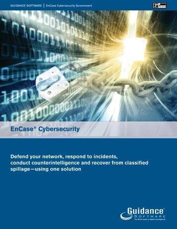 EnCase® Cybersecurity