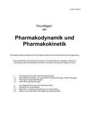 Pharmakodynamik und Pharmakokinetik - Aklimex.de