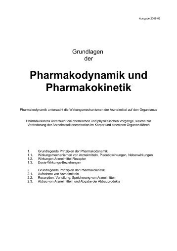 pharmakodynamik magazine