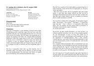 12. søndag efter trinitatis, den 10. august 2008 - Sct. Peders sogn